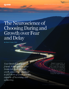 The Neuroscience of Choosing Daring and Growth